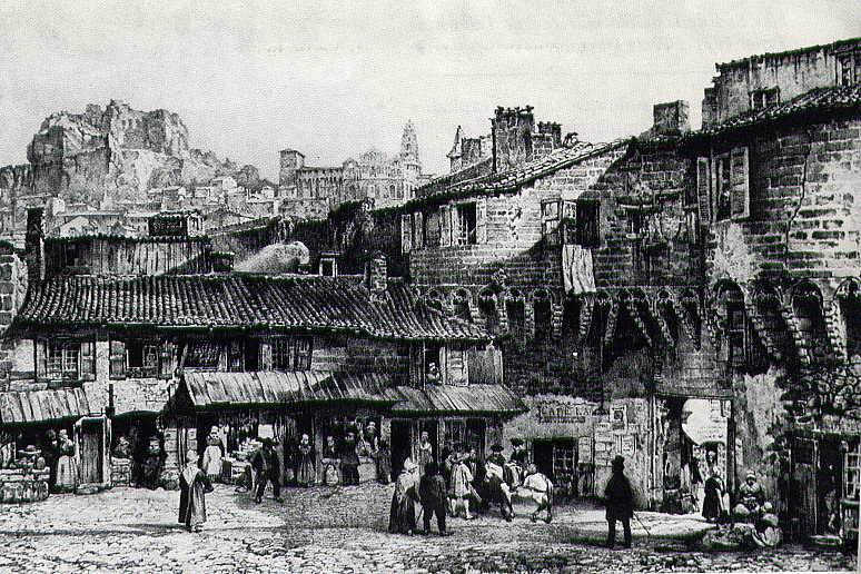 Gravure de Pannessac de 1840